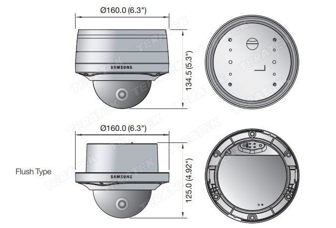 Аналоговые камеры Samsung SCV-3120P