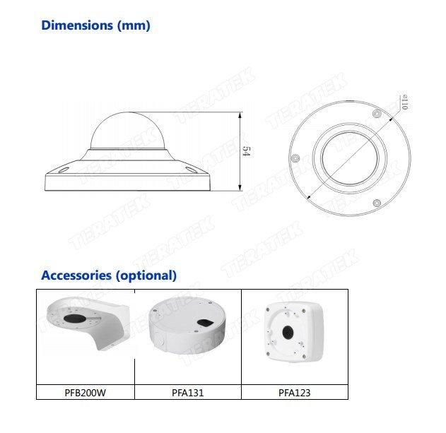 IP-камеры Dahua IPC-HDB4300C