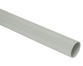 ДКС Труба ПВХ жёсткая гладкая д.32мм, лёгкая, 3м, цвет серый