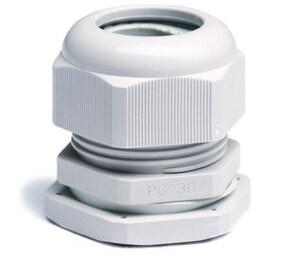 ДКС Зажим кабельный с контргайкой, IP68, PG36, д.20-31мм